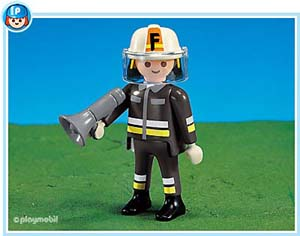 7713PM Playmobil Fire Chief