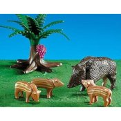 7749PM Playmobil Wild Boar with Babies