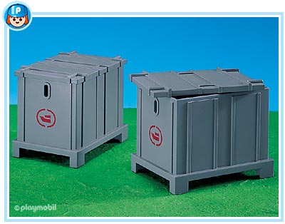 7837PM Playmobil 2 Shipping Containers