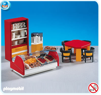 7846PM Playmobil Cafe Interior