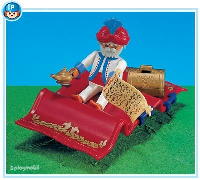 7862PM Playmobil Magic Carpet