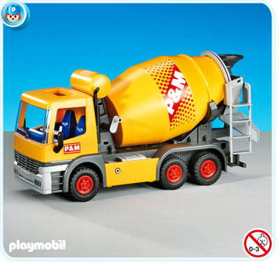 Playmobil 7932 Cement Mixer Truck
