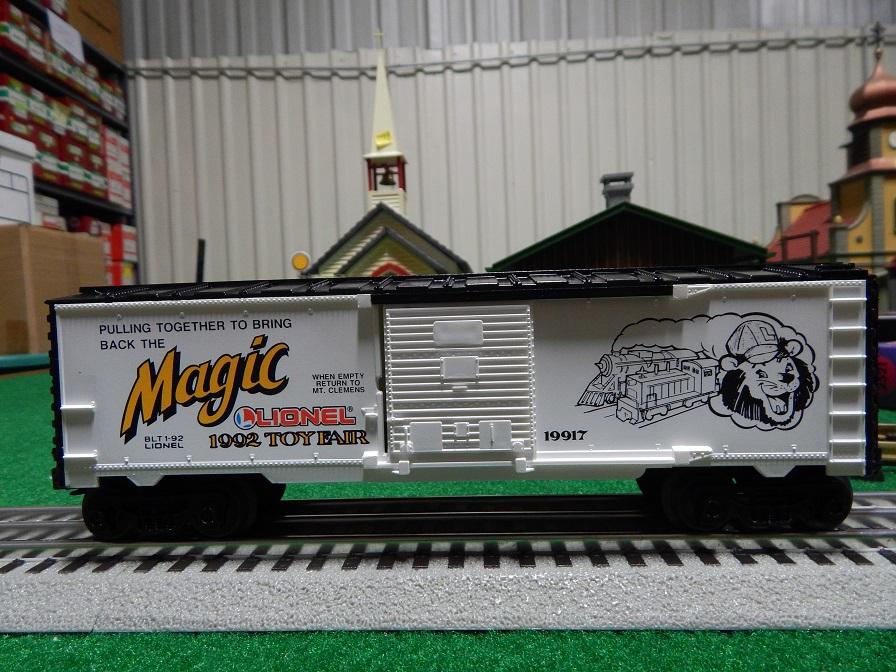 Lionel 6-19917  1992 Toy Fair Box Car