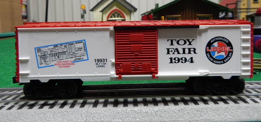 Lionel 6-19931 1994 Toy Fair Box Car