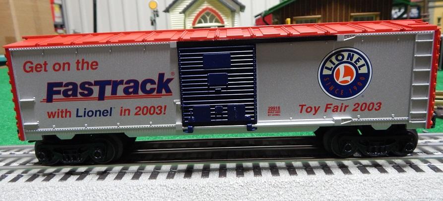 Lionel 6-29918 2003 Toy Fair Box Car