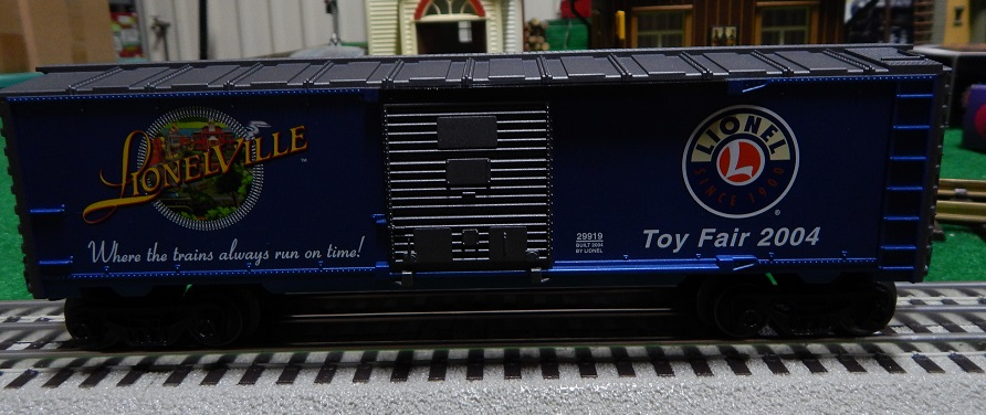 Lionel 29919 2004 Toy Fair Box Car