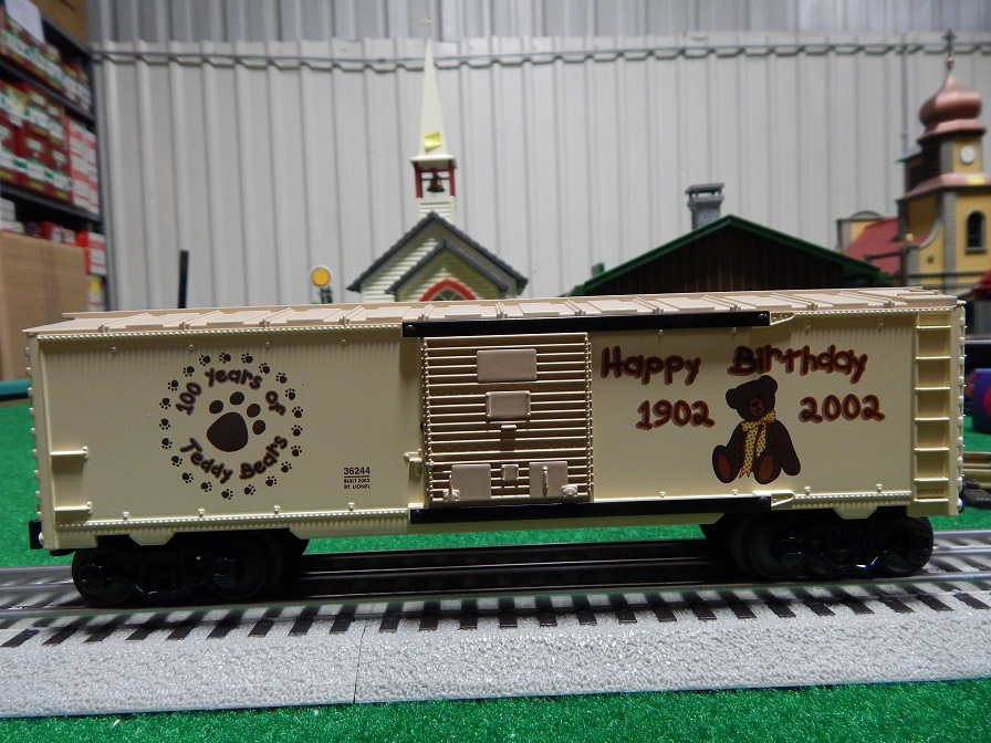 Lionel 6-36244 Teddy Bear Centennial Box Car