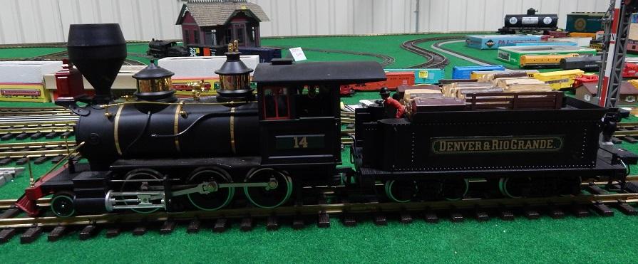 Lgb 2018d Special Black Painted Dsp Prr Mogul Locomotive