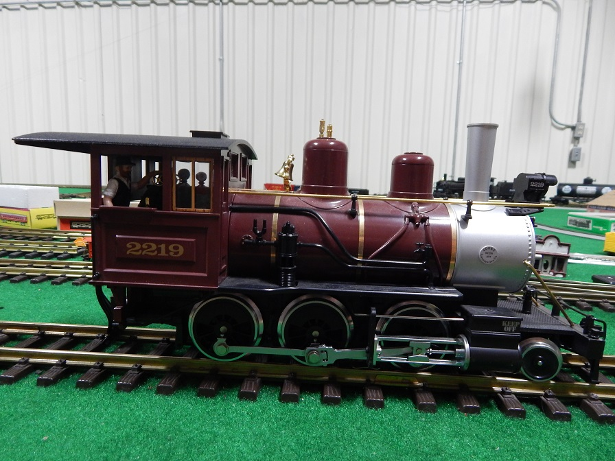 LGB 2219S PRR Mogul Locomotive