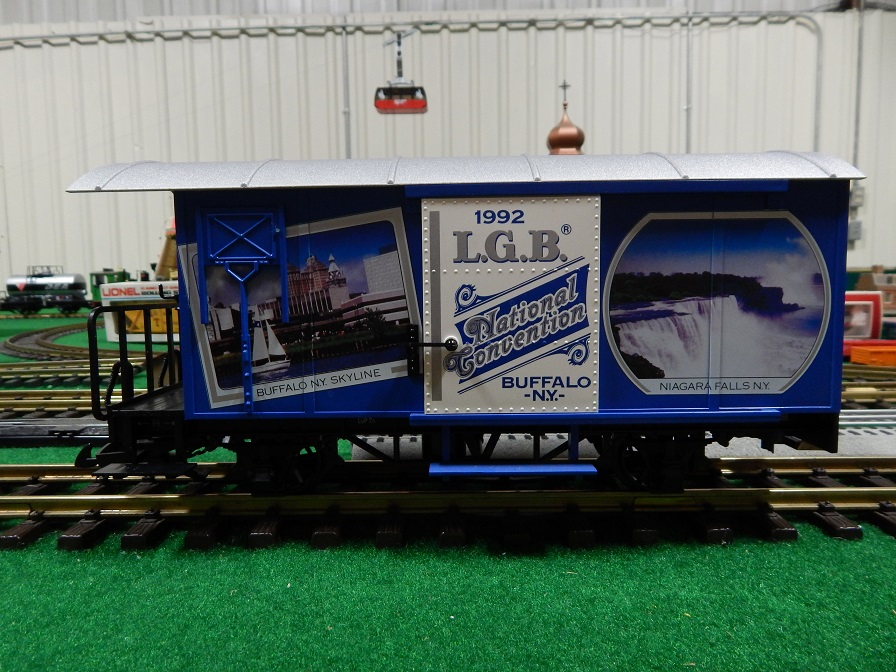 LGB 4028CC Buffalo, NY 1992 Convention Box Car