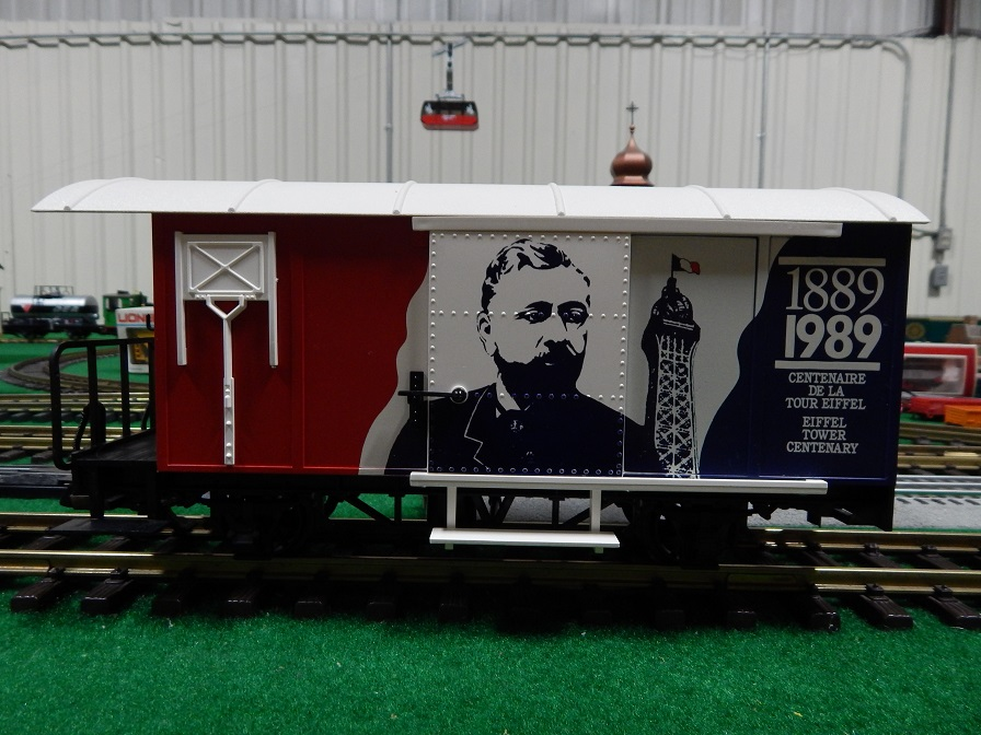 LGB 4028FR French Commemorative Box Car