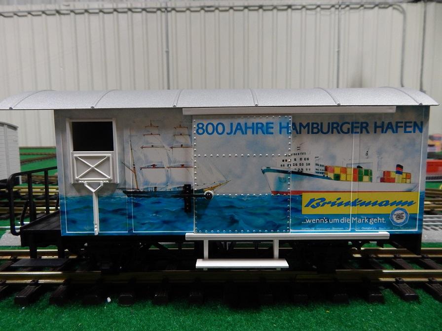 LGB 4028HH 800 Jahre Hamburger Hafen Box Car