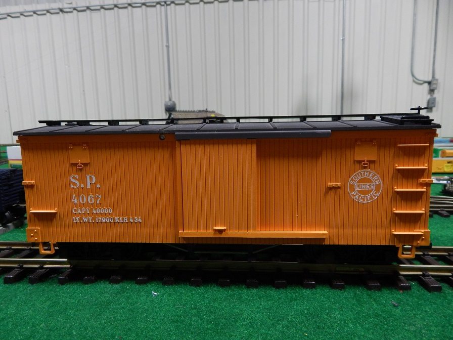 LGB 4067 SP Box Car Hard to find B-Series production Box Car