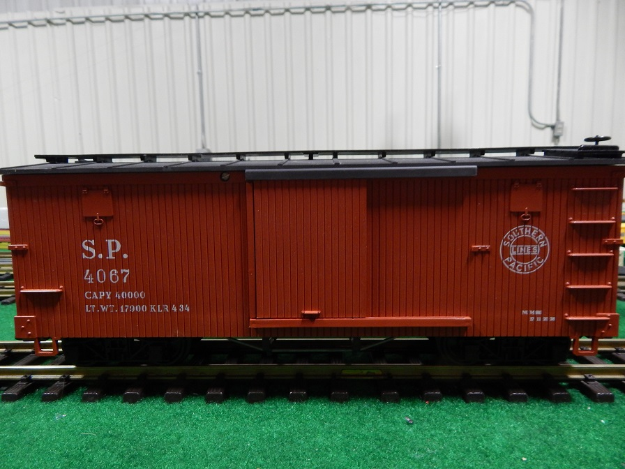 LGB 4067 SP Box Car Hard to find C-Series production box car