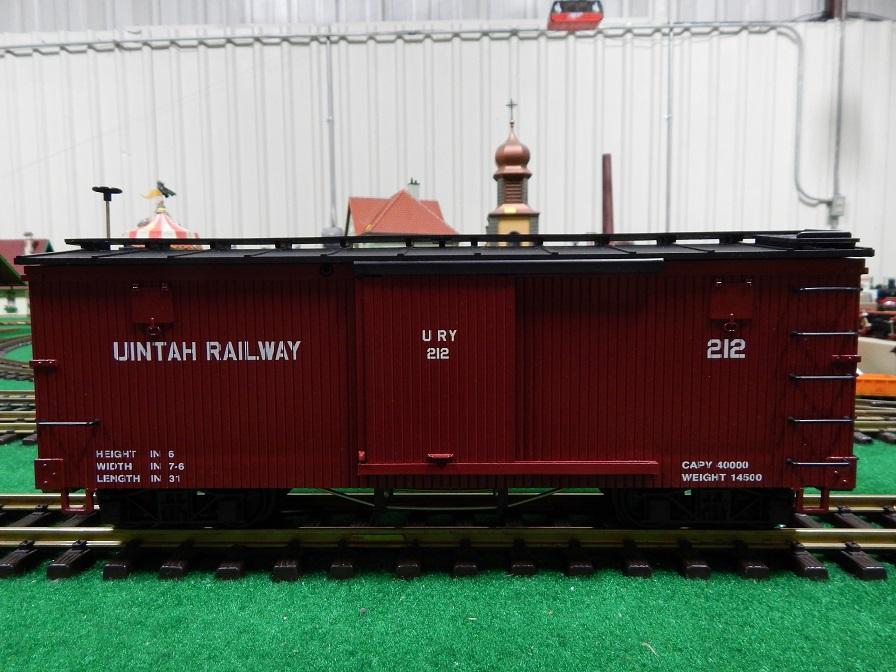 LGB 4067WC Uintah Box Car