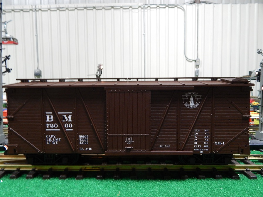 USA Trains R1402 Boston and Maine Box Car