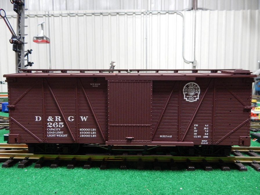 USA Trains R1451 Denver and Rio Grande Western Box Car