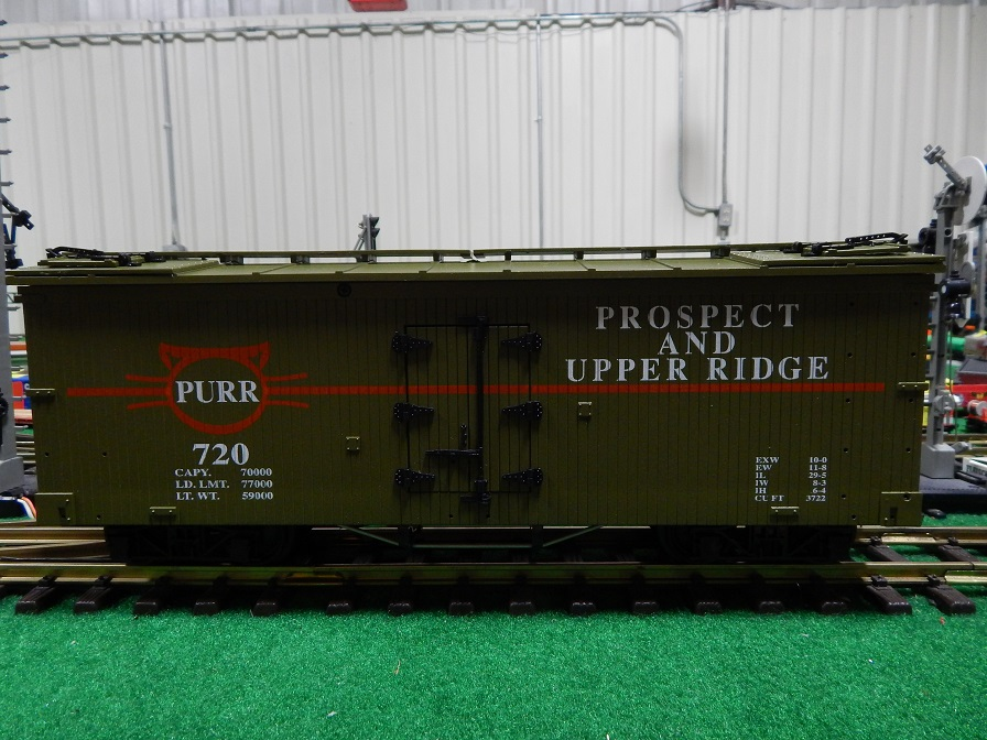 USA Trains R160-720 PURR - Prospect and Upper Ridge Reefer