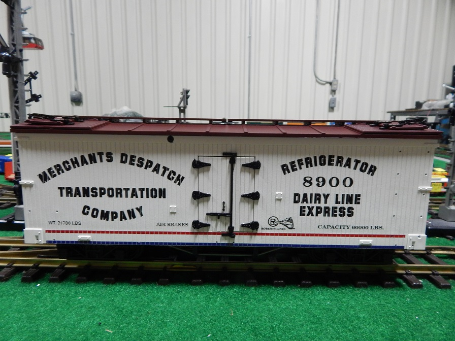 USA Trains R160-8900 Merchants Dispatch Dairy Line Reefer