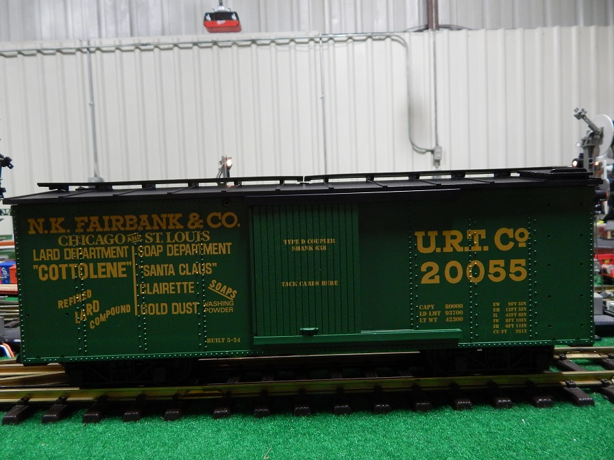 USA Trains R1984 NK Fairbanks Co Box Car