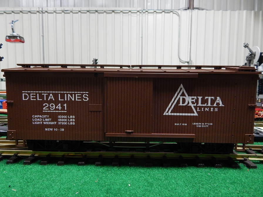 USA Trains R2941 Delta Lines Box Car