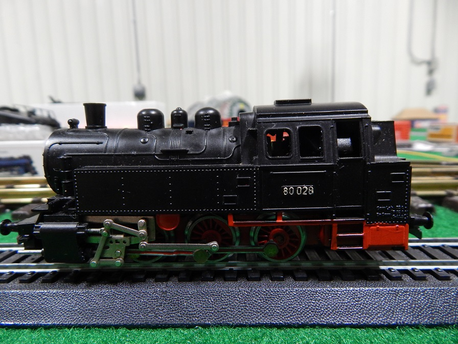 HO-scale Vintage Kleinbahn 80028 Steam Locomotive